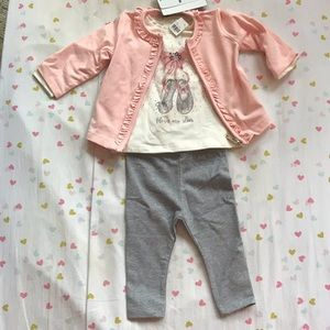 Mayoral • 3-Piece Baby Girl Outfit • BNWT